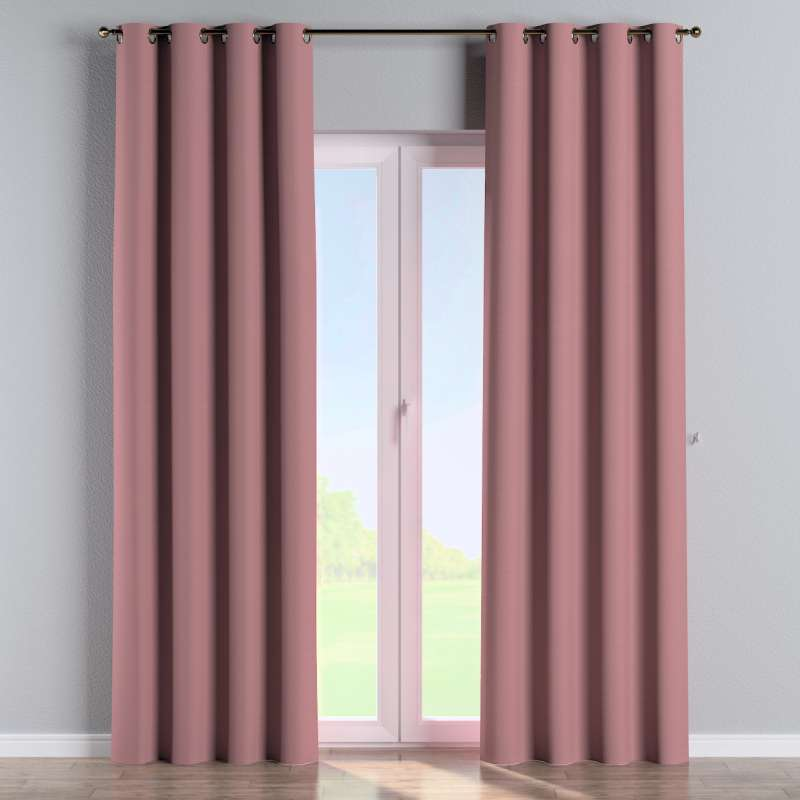 Eyelet curtain in collection Panama Cotton, fabric: 702-43