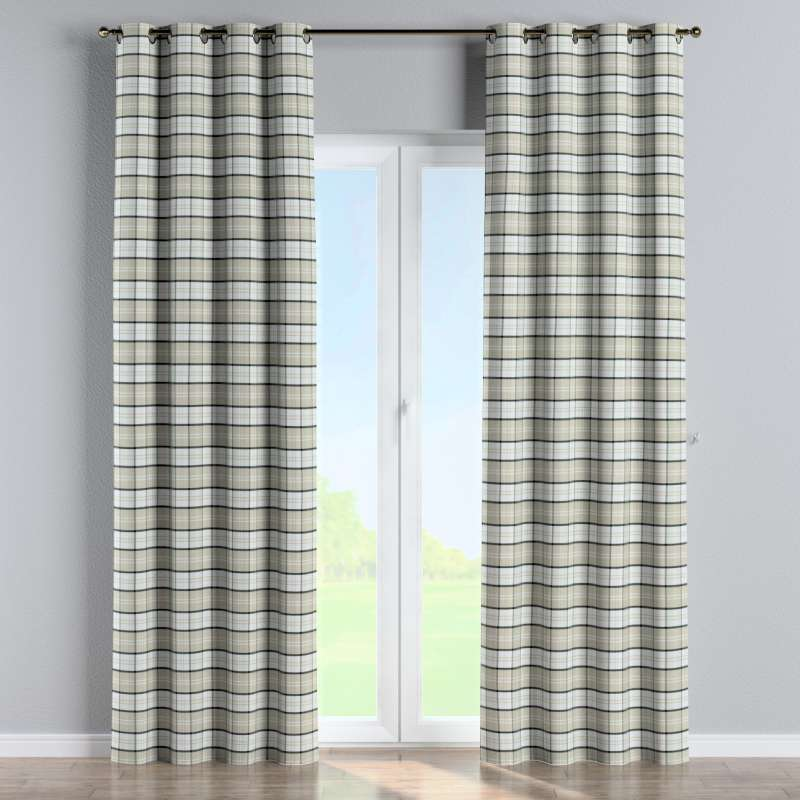 Eyelet curtain in collection Bristol, fabric: 143-64