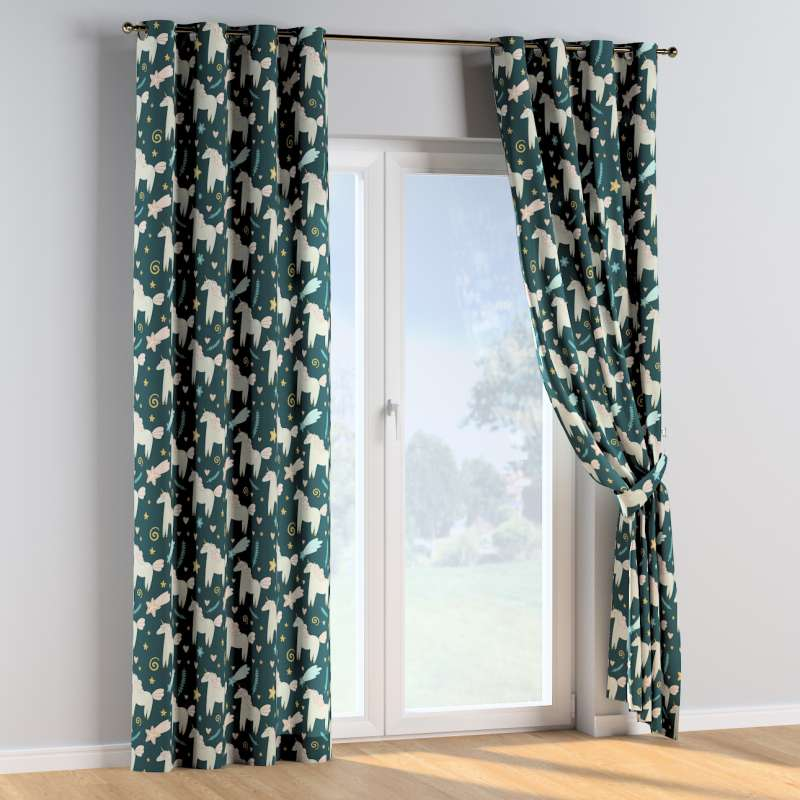 Eyelet curtains in collection Magic Collection, fabric: 500-43