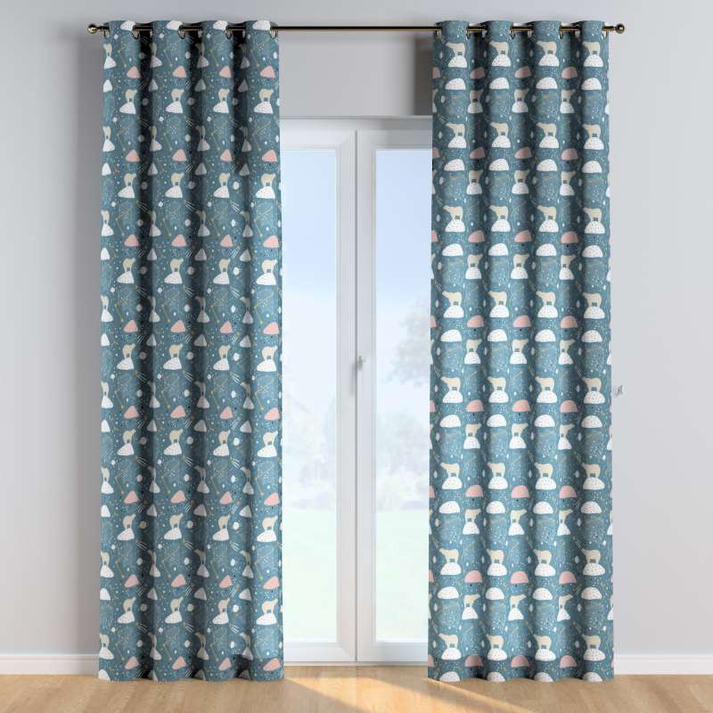 Eyelet curtains in collection Magic Collection, fabric: 500-45