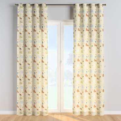 Eyelet curtains 500-46 beżowy Collection Magic Collection