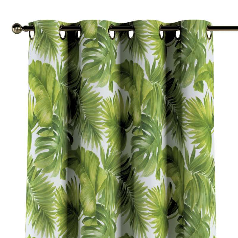 Eyelet curtain in collection Tropical Island, fabric: 143-63