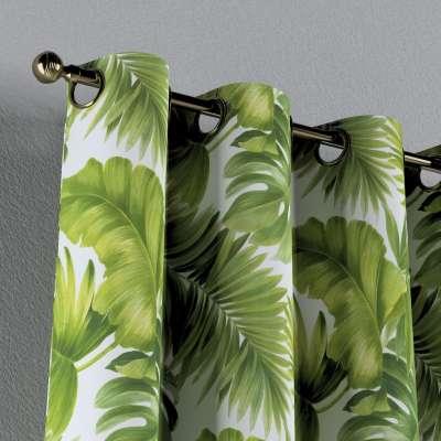Zasłona na kółkach 1 szt. w kolekcji Tropical Island, tkanina: 143-63