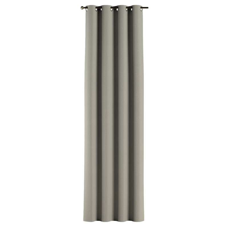 Gardin med öljetter 1 längd i kollektionen City, Tyg: 704-80