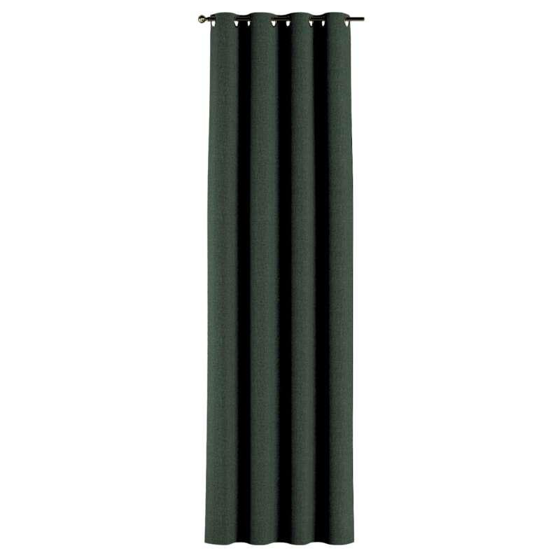 Gardin med öljetter 1 längd i kollektionen City, Tyg: 704-81