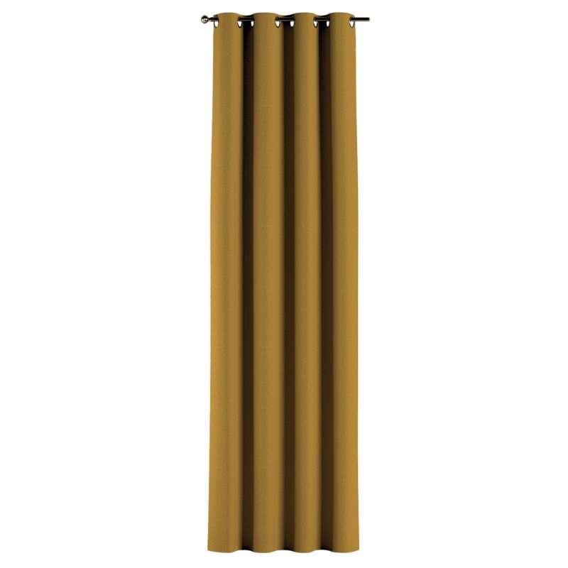 Gardin med öljetter 1 längd i kollektionen City, Tyg: 704-82