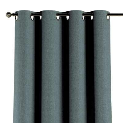 Gardin med øskner 1 stk. 704-85 Petroliumsblå Kollektion City