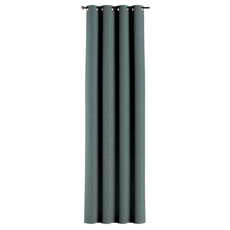 Gardin med öljetter 1 längd i kollektionen City, Tyg: 704-85