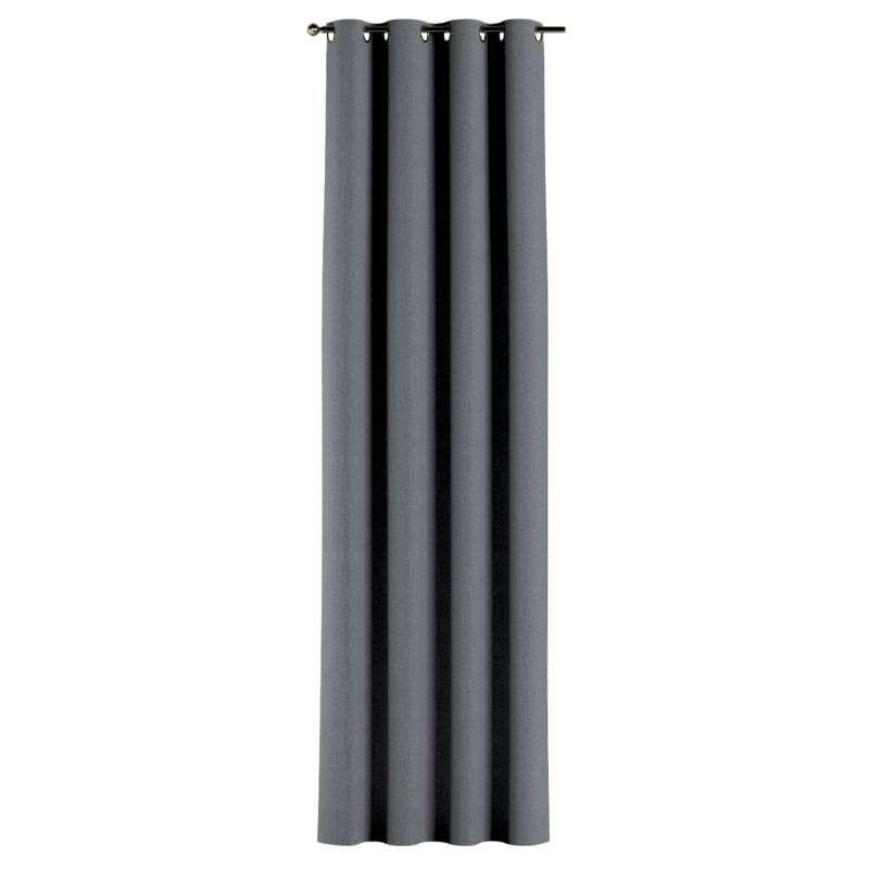 Gardin med öljetter 1 längd i kollektionen City, Tyg: 704-86