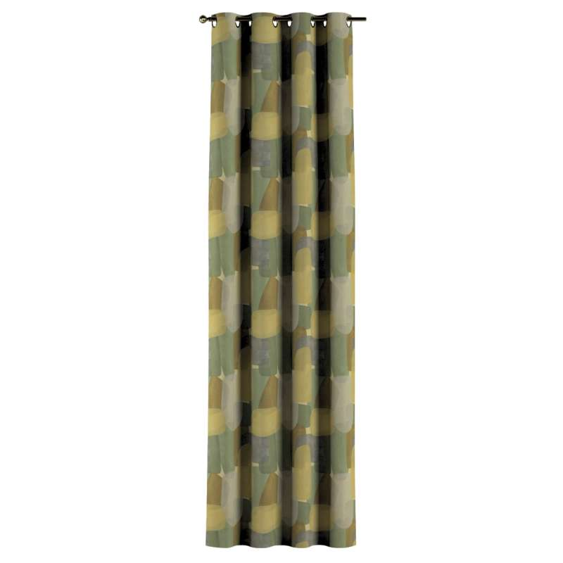 Gardin med maljer 1 stk. fra kolleksjonen Vintage 70's, Stoffets bredde: 143-72