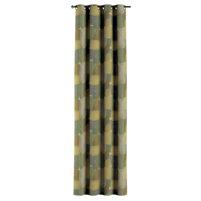 Zasłona na kółkach 1 szt. w kolekcji Vintage 70's, tkanina: 143-72