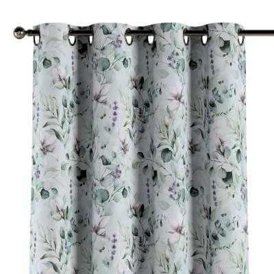 Gardin med maljer 1 stk. 143-66 Naturhvit med pint Magnolie Kolleksjon Flowers
