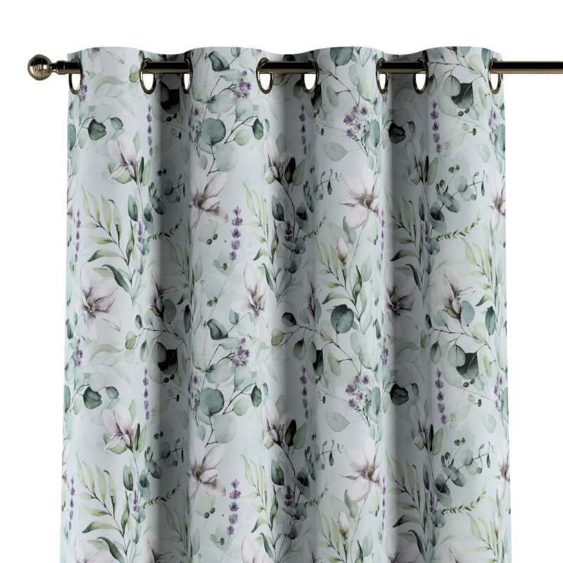 Eyelet curtain in collection Flowers, fabric: 143-66