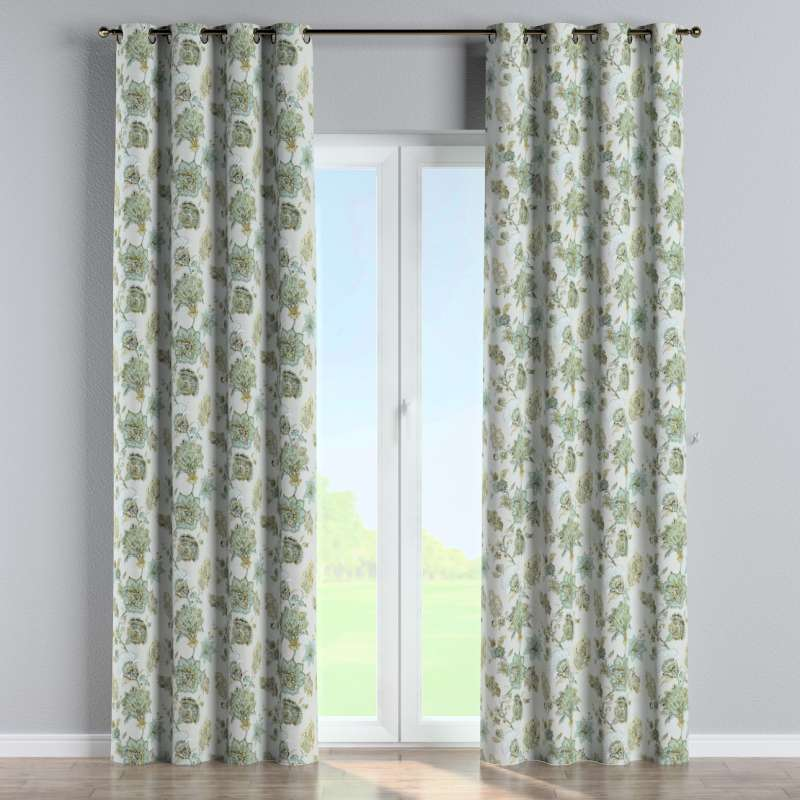 Eyelet curtain in collection Flowers, fabric: 143-67
