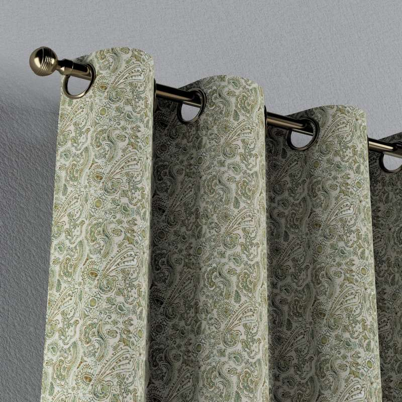 Záves s kolieskami V kolekcii Flowers, tkanina: 143-68