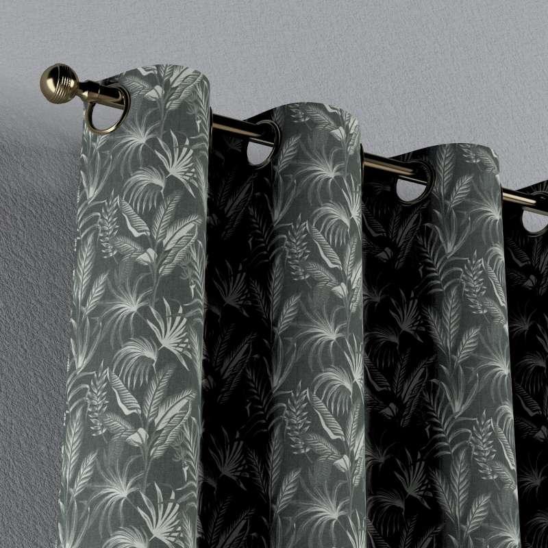 Záves s kolieskami V kolekcii Flowers, tkanina: 143-73