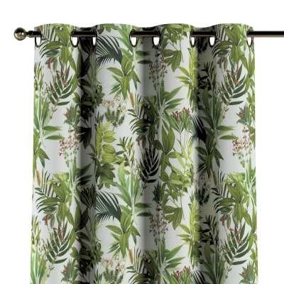 Záves s kolieskami V kolekcii Tropical Island, tkanina: 143-69