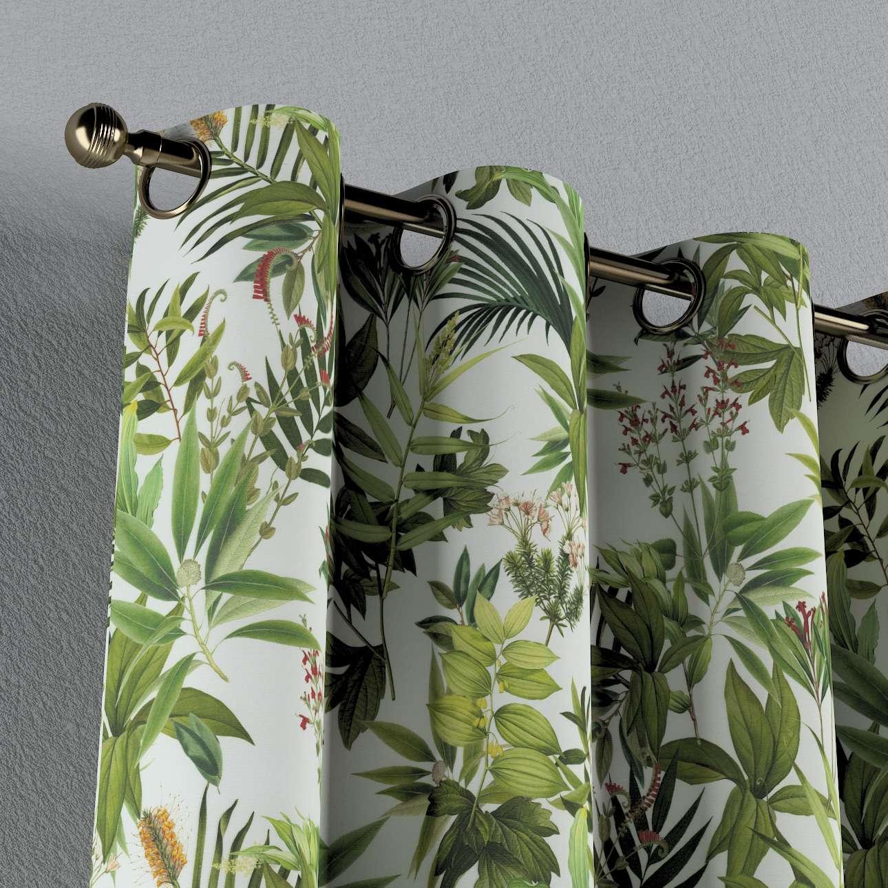 Zasłona na kółkach 1 szt. w kolekcji Tropical Island, tkanina: 143-69