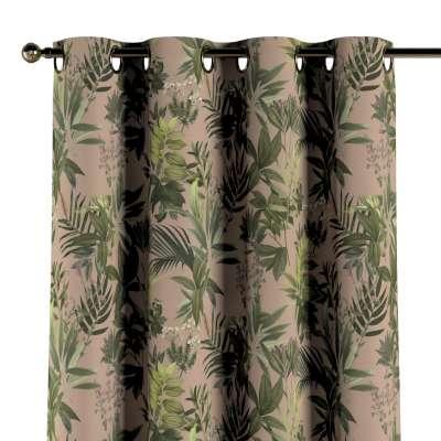Zasłona na kółkach 1 szt. w kolekcji Tropical Island, tkanina: 143-71