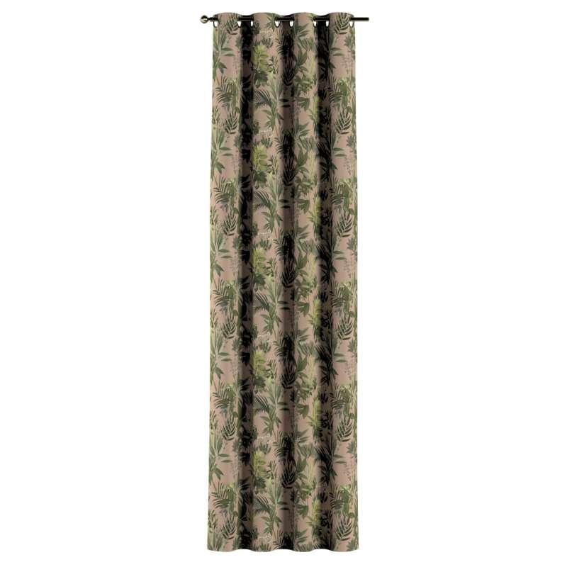 Záves s kolieskami V kolekcii Tropical Island, tkanina: 143-71