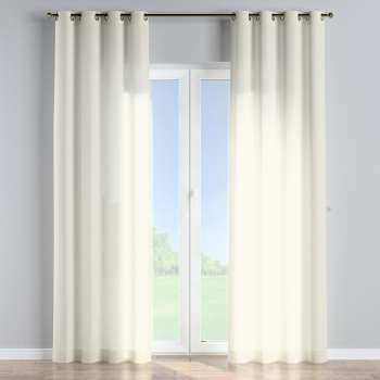 Eyelet curtains 130 × 260 cm (51 × 102 inch) in collection Romantica, fabric: 128-88