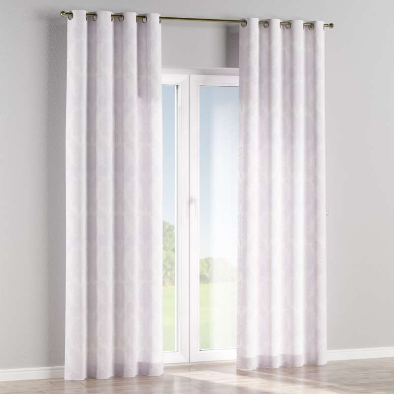 Eyelet curtain in collection Damasco, fabric: 613-00