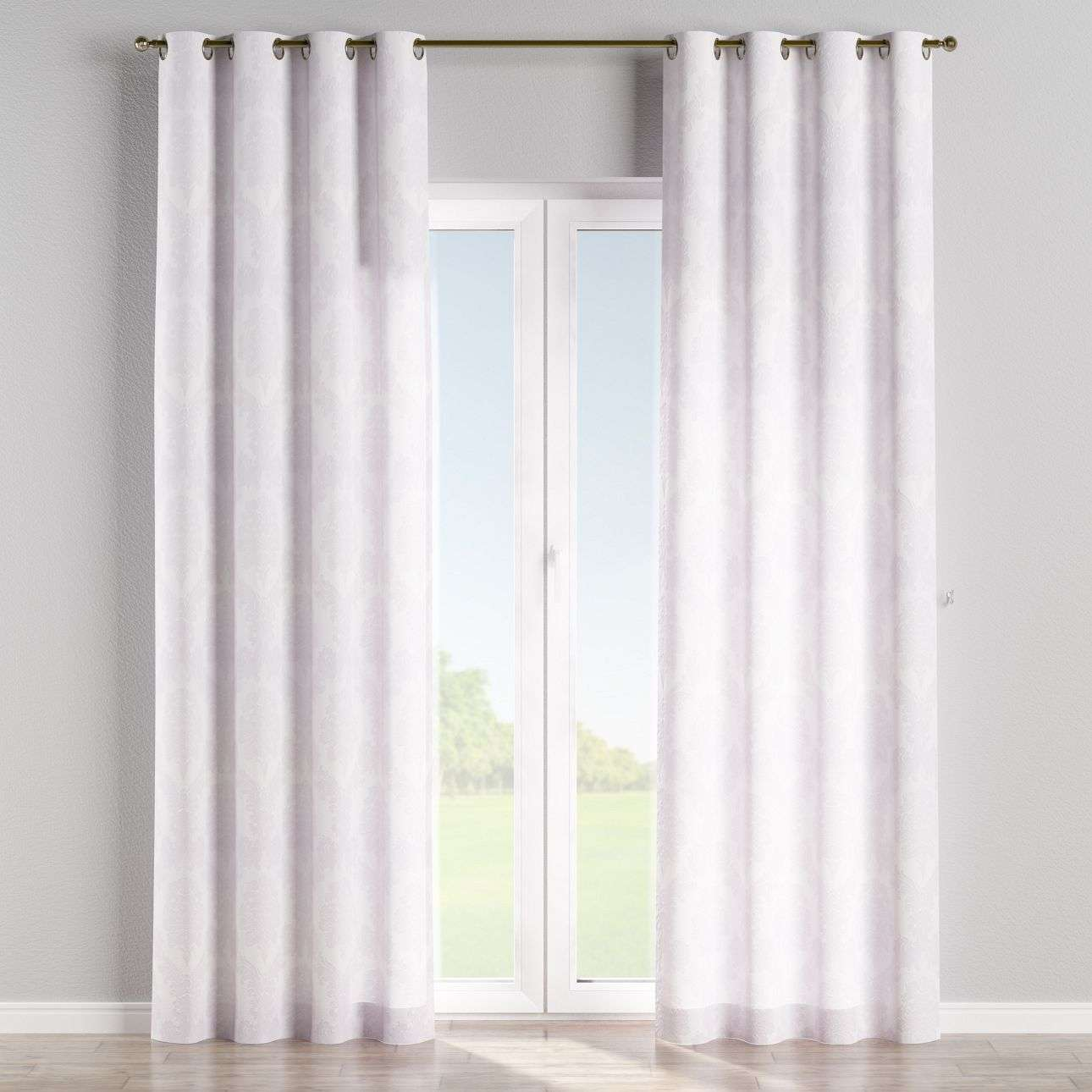 Eyelet curtains 130 x 260 cm (51 x 102 inch) in collection Damasco, fabric: 613-00