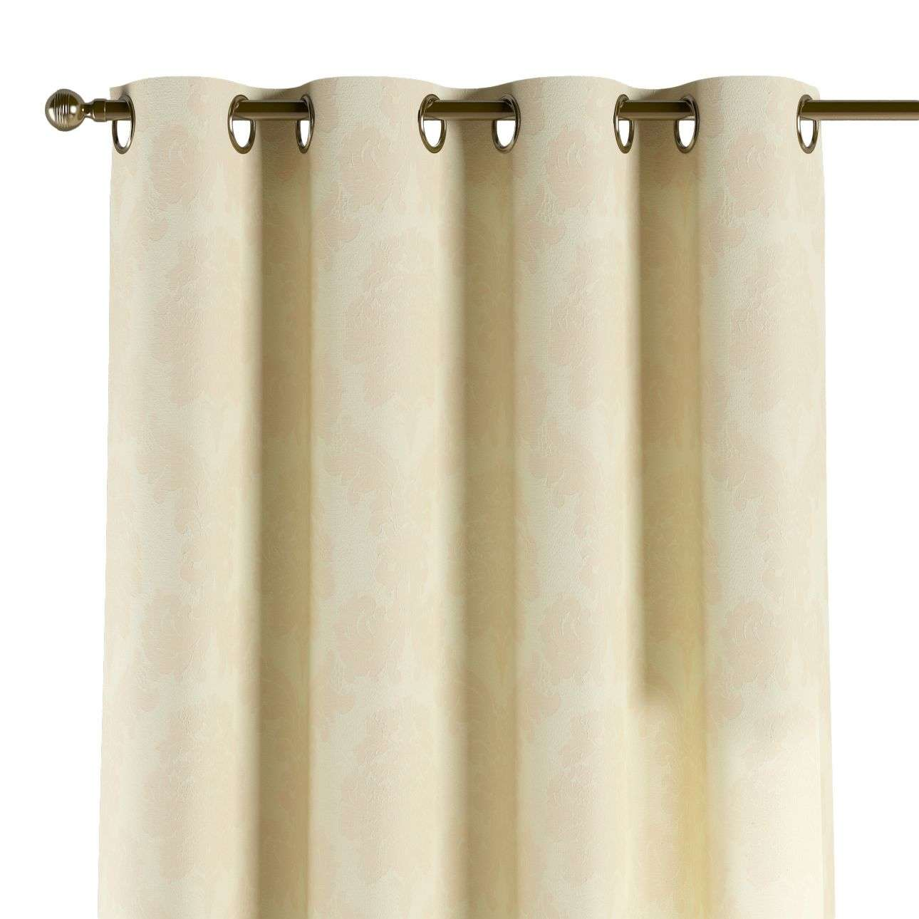 Eyelet curtains 130 x 260 cm (51 x 102 inch) in collection Damasco, fabric: 613-01
