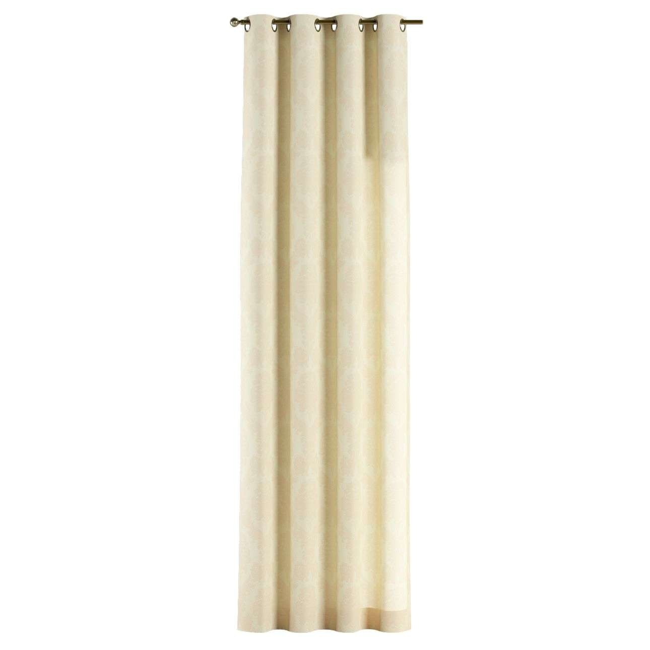Žiedinio klostavimo užuolaidos 130 x 260 cm (plotis x ilgis) kolekcijoje Damasco, audinys: 613-01