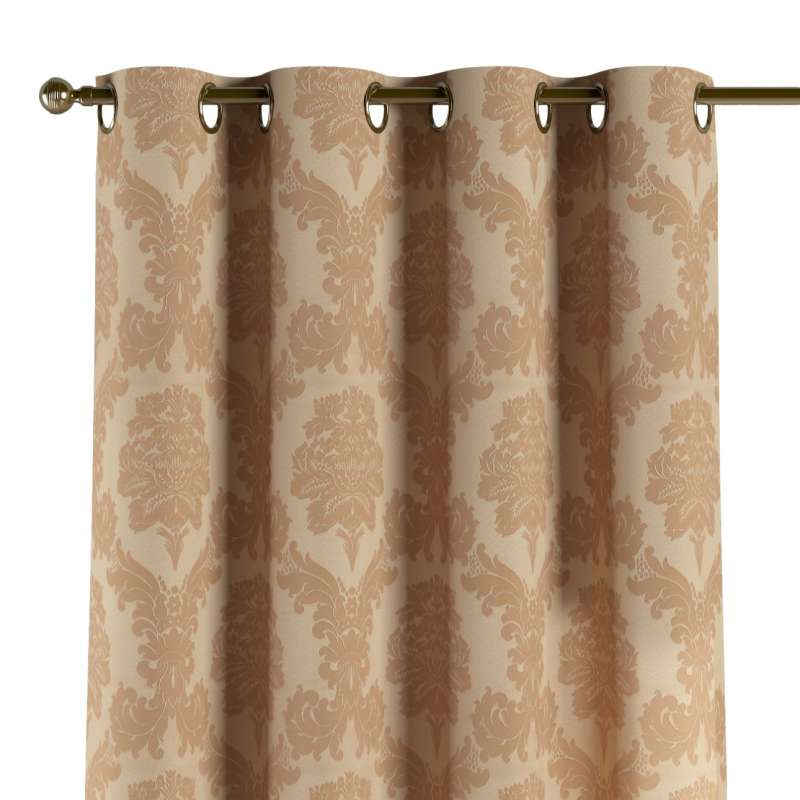 Eyelet curtain in collection Damasco, fabric: 613-04