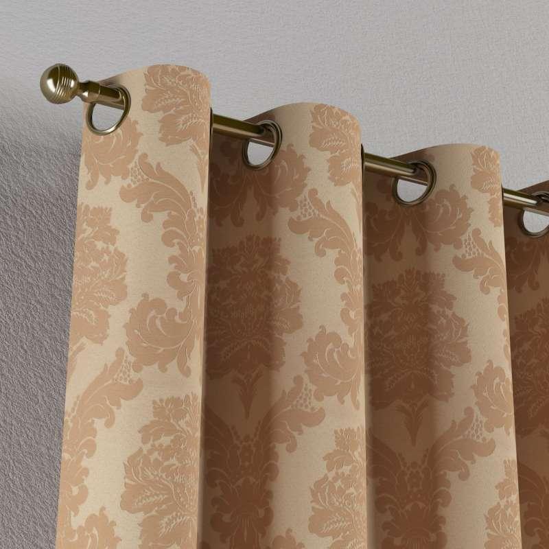 Záves s kolieskami V kolekcii Damasco, tkanina: 613-04