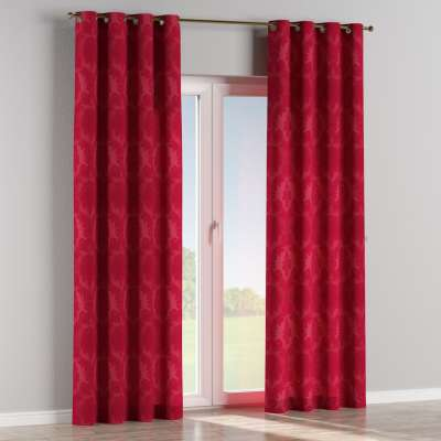 Eyelet curtains in collection Damasco, fabric: 613-13