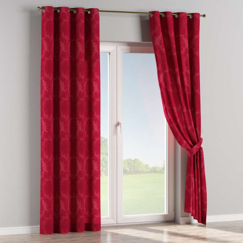Eyelet curtain in collection Damasco, fabric: 613-13