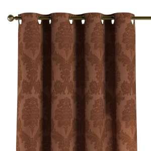 Gardin med maljer 1 stk. 130 x 260 cm fra kolleksjonen Damasco, Stoffets bredde: 613-88