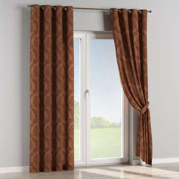 Eyelet curtains 130 x 260 cm (51 x 102 inch) in collection Damasco, fabric: 613-88