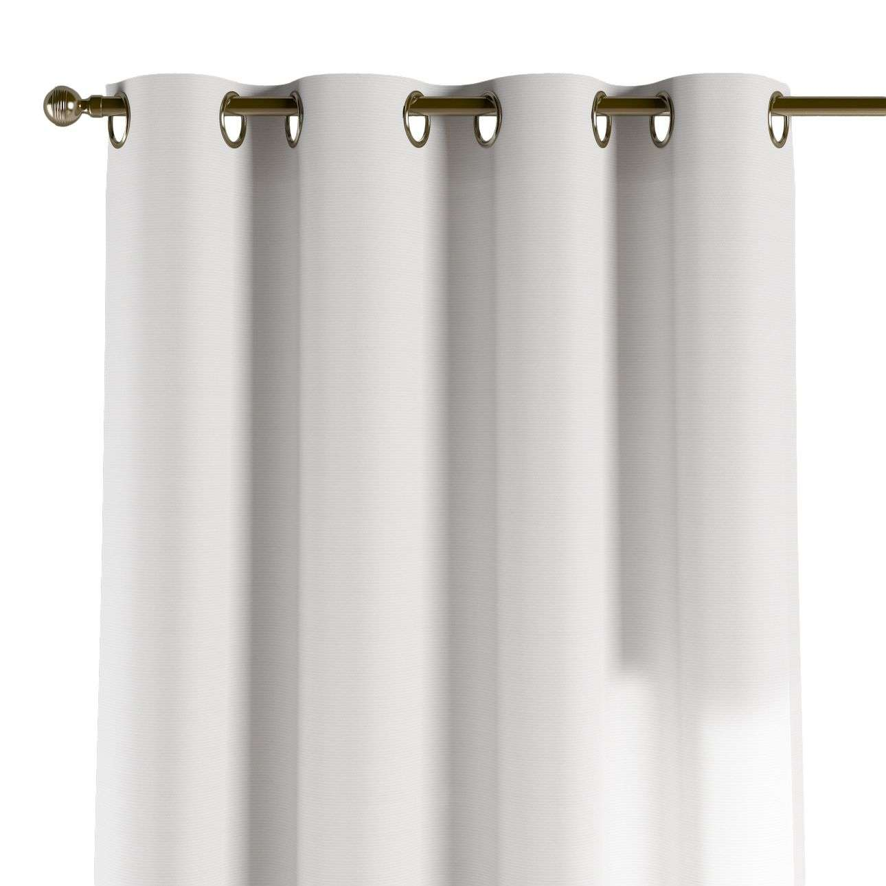Eyelet curtains 130 × 260 cm (51 × 102 inch) in collection Jupiter, fabric: 127-01