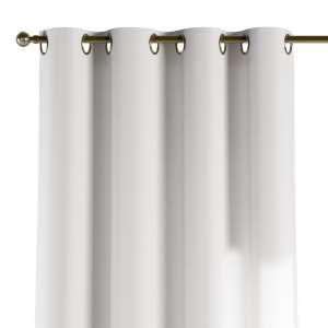 Gardin med öljetter 1 längd 130 x 260 cm i kollektionen Jupiter, Tyg: 127-01