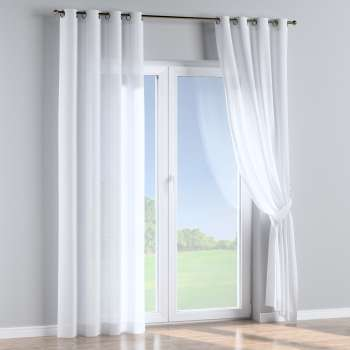 Eyelet curtains 130 x 260 cm (51 x 102 inch) in collection Romantica, fabric: 128-77