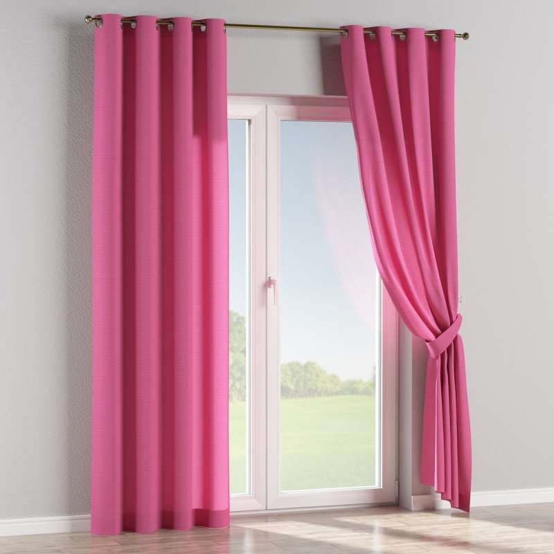 Eyelet curtain in collection Jupiter, fabric: 127-24