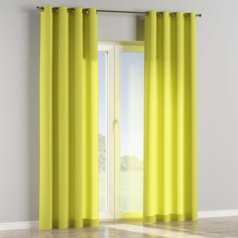 Eyelet curtain in collection Jupiter, fabric: 127-50