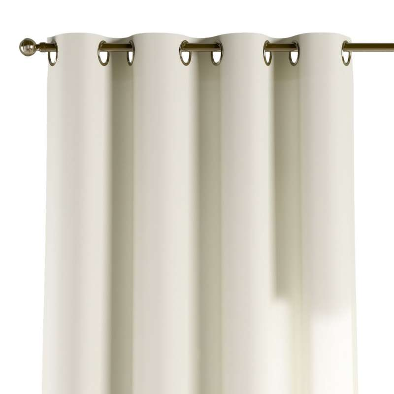 Eyelet curtain in collection Jupiter, fabric: 127-00