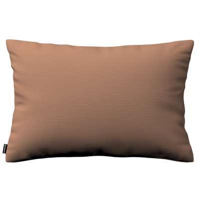 Pudebetræk<br/>Kinga 60x40cm 702-02 Mellembrun Kollektion Cotton Panama
