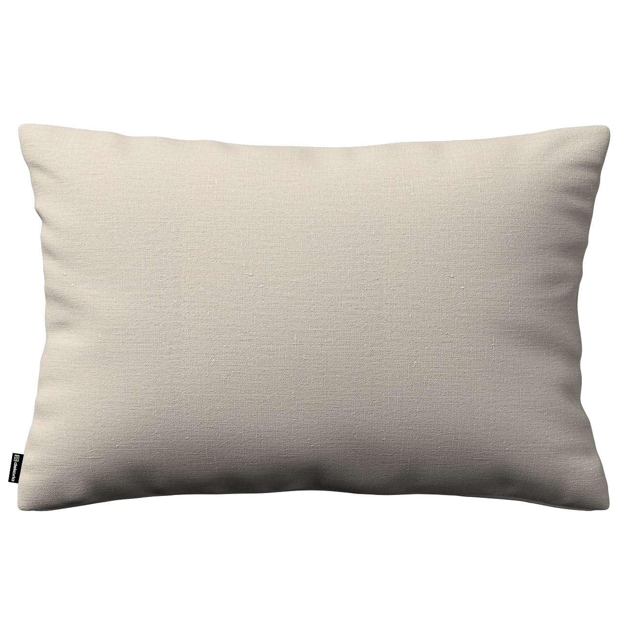 Poszewka Kinga na poduszkę prostokątną 60 x 40 cm w kolekcji Linen, tkanina: 392-05
