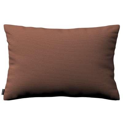 Poszewka Kinga na poduszkę prostokątną 133-09 brązowy Kolekcja Loneta