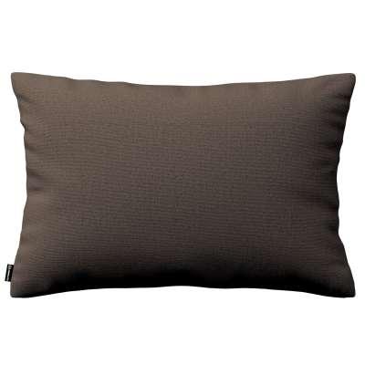 Poszewka Kinga na poduszkę prostokątną 705-08 brązowy Kolekcja Etna