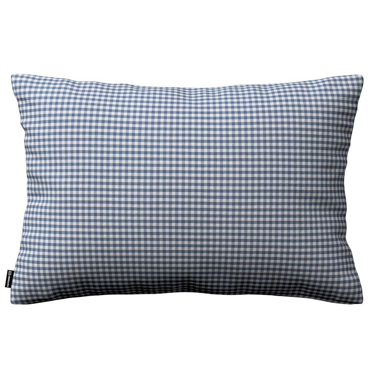 Poszewka Kinga na poduszkę prostokątną 60 x 40 cm w kolekcji Quadro, tkanina: 136-00