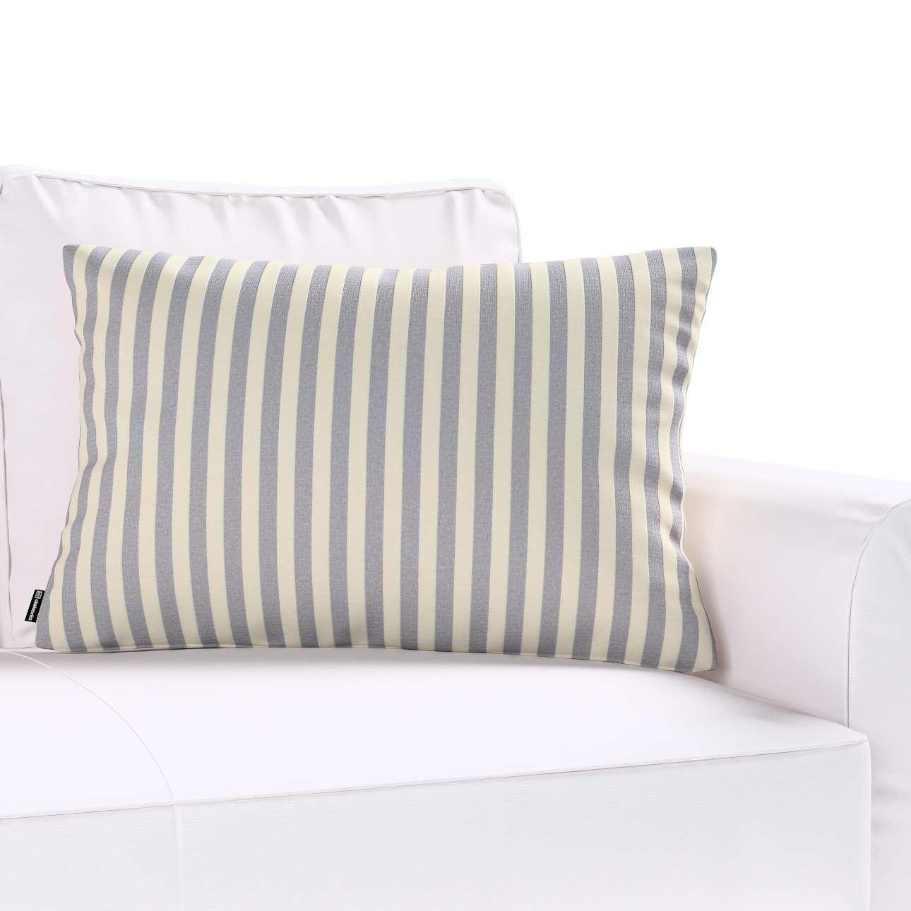 Poszewka Kinga na poduszkę prostokątną 60 x 40 cm w kolekcji Quadro, tkanina: 136-02