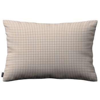 Kinga dekoratyvinės pagalvėlės užvalkalas 60x40cm kolekcijoje Quadro, audinys: 136-05