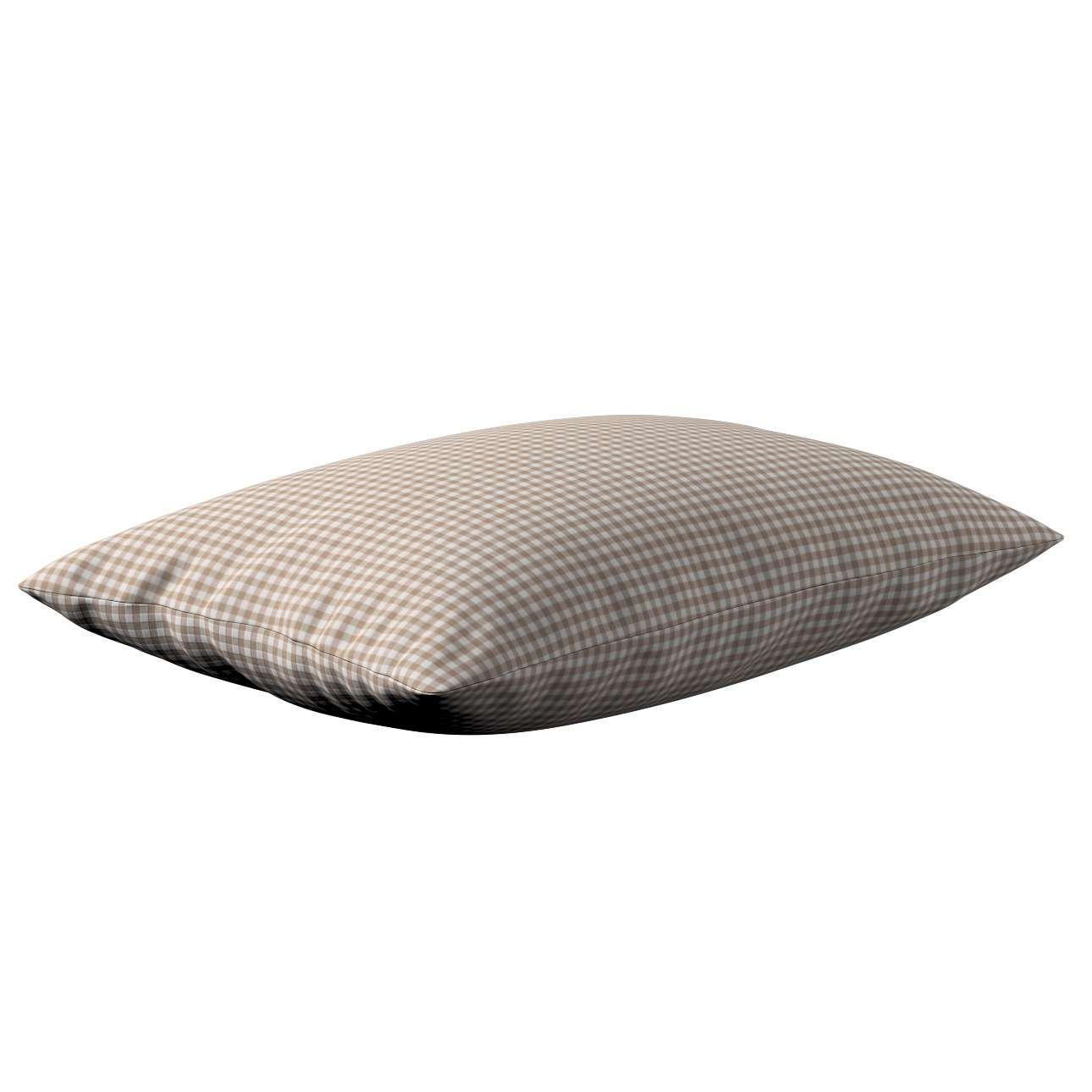 Poszewka Kinga na poduszkę prostokątną 60 x 40 cm w kolekcji Quadro, tkanina: 136-05