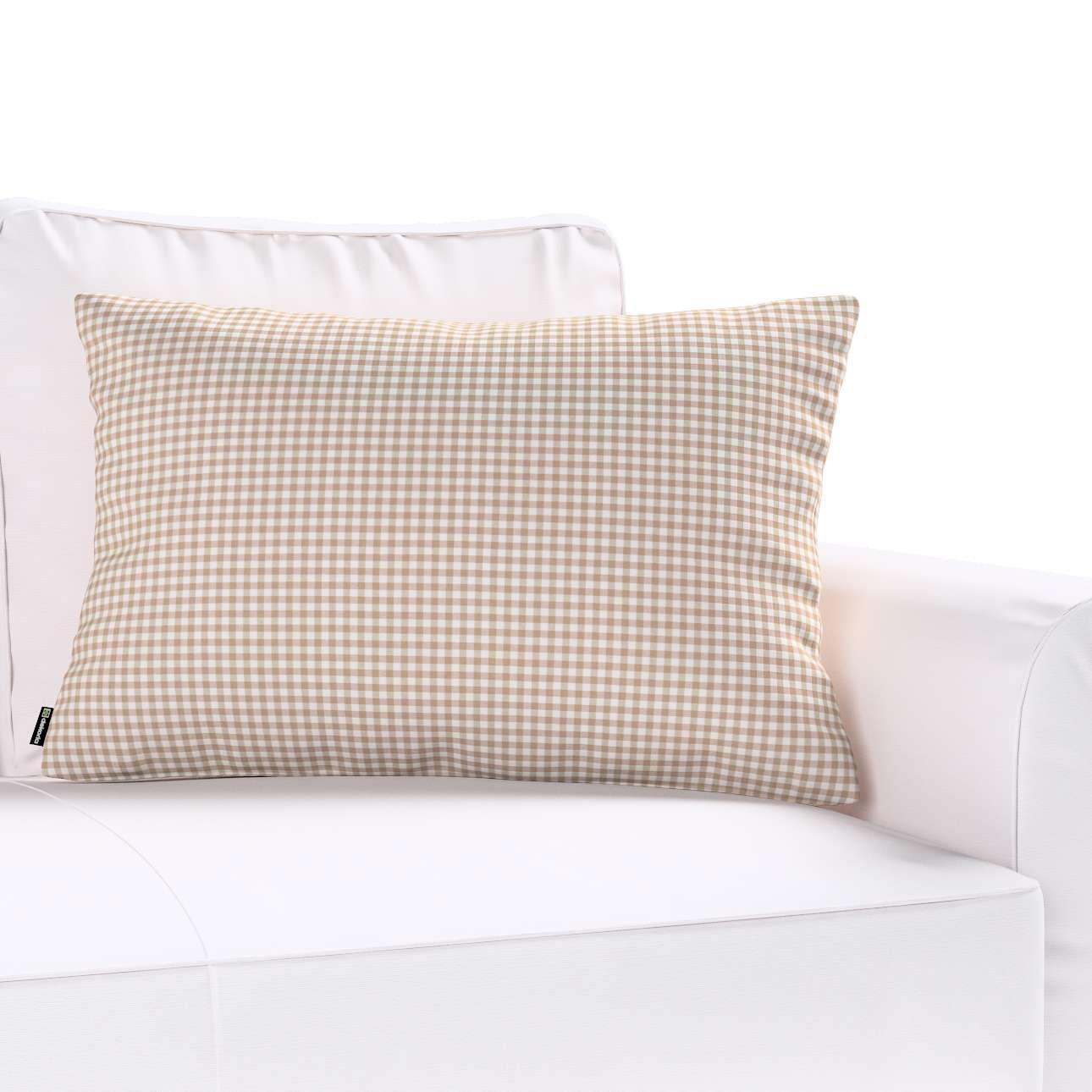 Kinga dekoratyvinės pagalvėlės užvalkalas 60x40cm 60x40cm kolekcijoje Quadro, audinys: 136-05